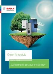 Cenník zostáv Bosch pre rok 2021